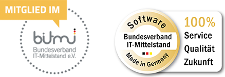 Mitglied im BITMi - Software made in Germany