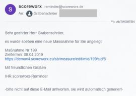 Neue Funktionen: Maßnahmen-Workflow weiter vereinfacht